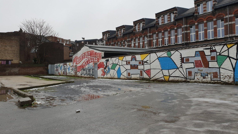 street art nell'Oltre Mosa Liegi