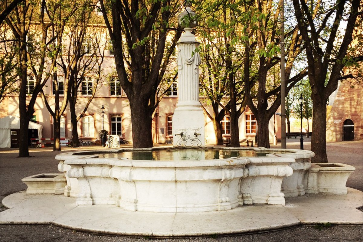 Cortile Pfalz Basilea