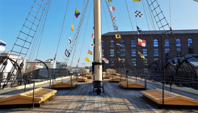 Ponte superiore SS Great Britain