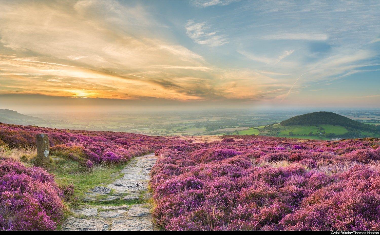 6 sentieri costieri in Gran Bretagna