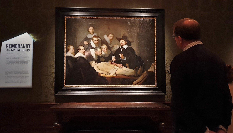 lezione anatomia Rembrandt