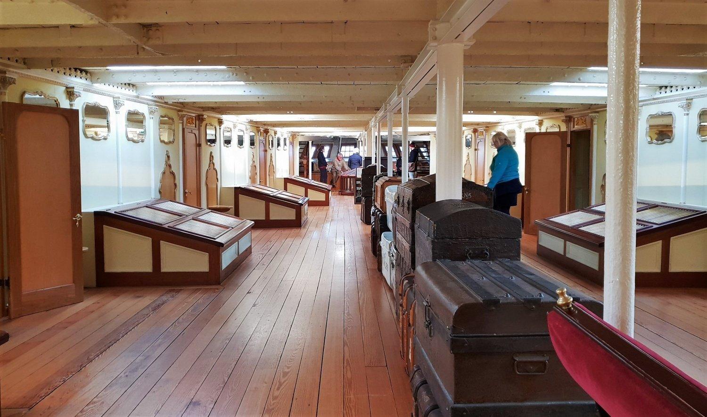 ponte bagagli SS Great Britain