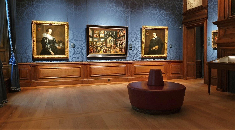 sala blu Mauritshuis