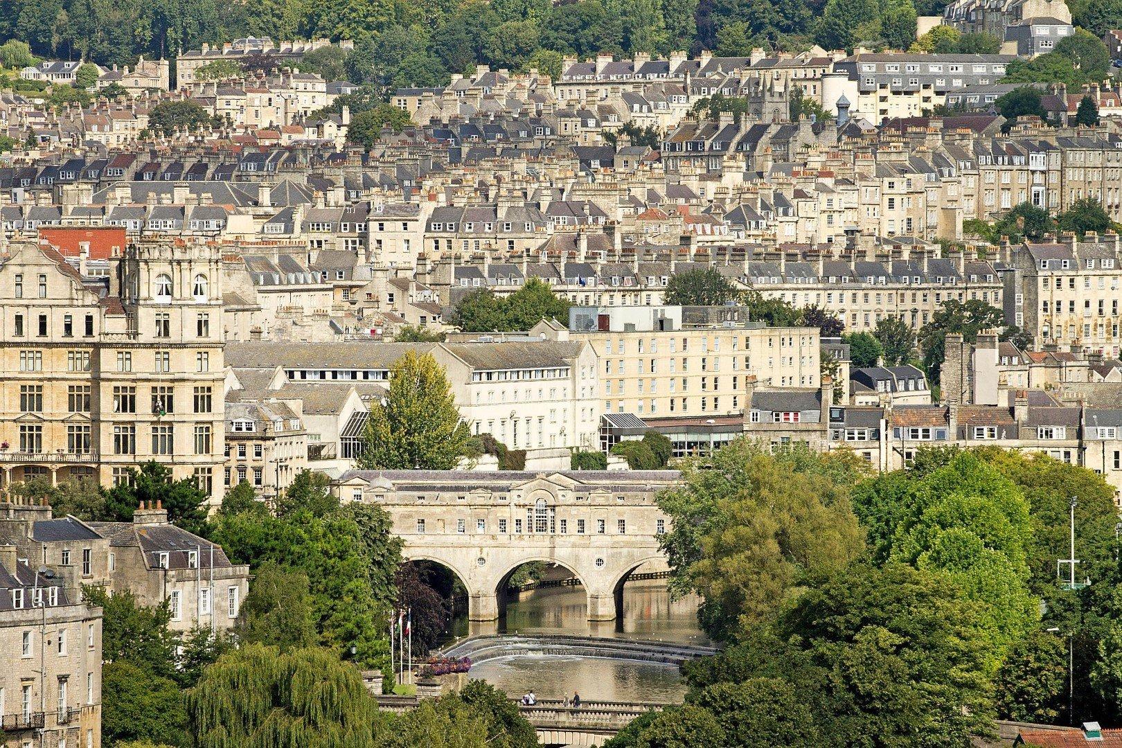 Panorama di Bath