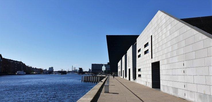 Copenhagen Visitare la Biblioteca Nazionale