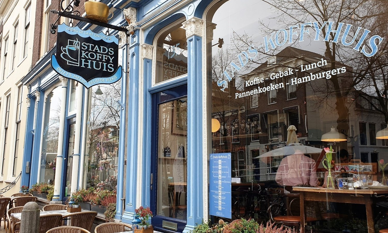 Dove mangiare a Delft Stadskoffyhuis