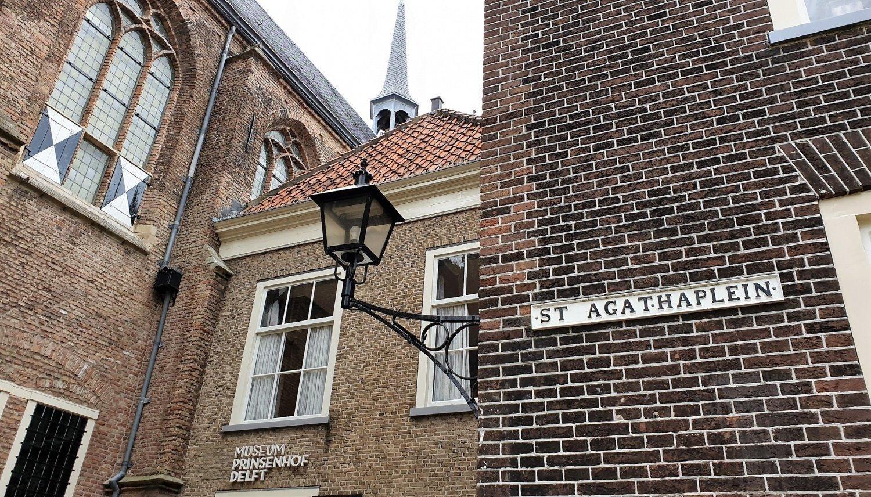 Visitare il Prinsenhof di Delft
