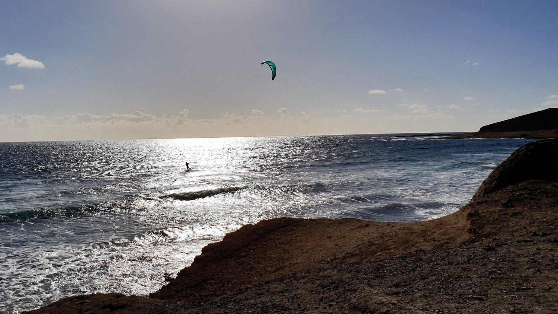 Kite solitario El Mèdano