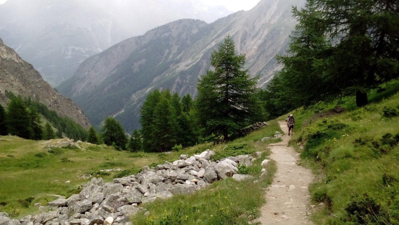 Sentiero per il rifugio Sella Cogne