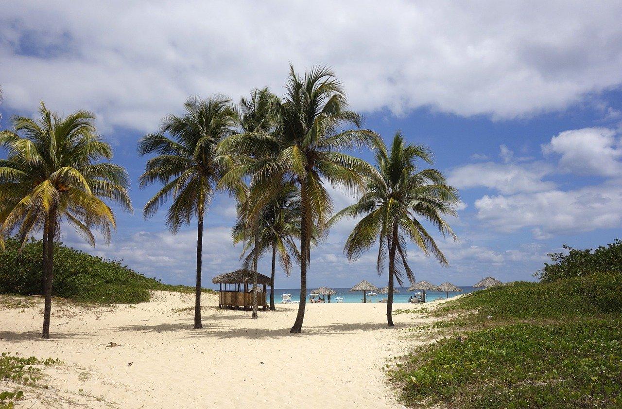 Spiaggia a Cuba