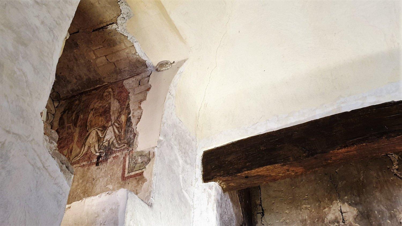 Affreschi castello Montecchio Emilia