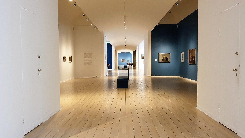Interno museo arte