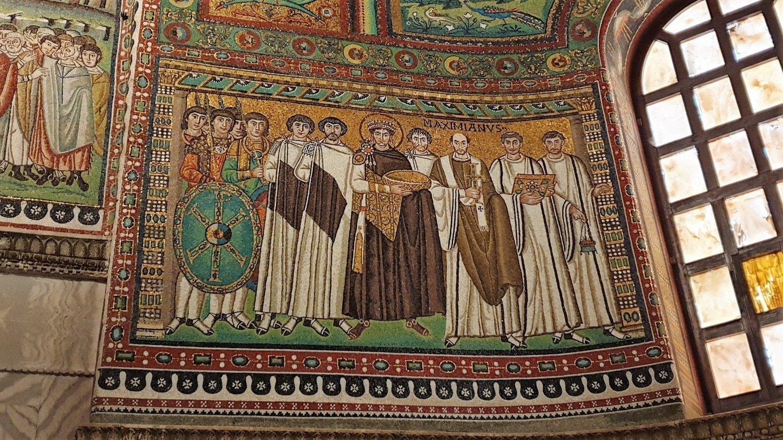 Giustiniano e Basilica di San Vitale