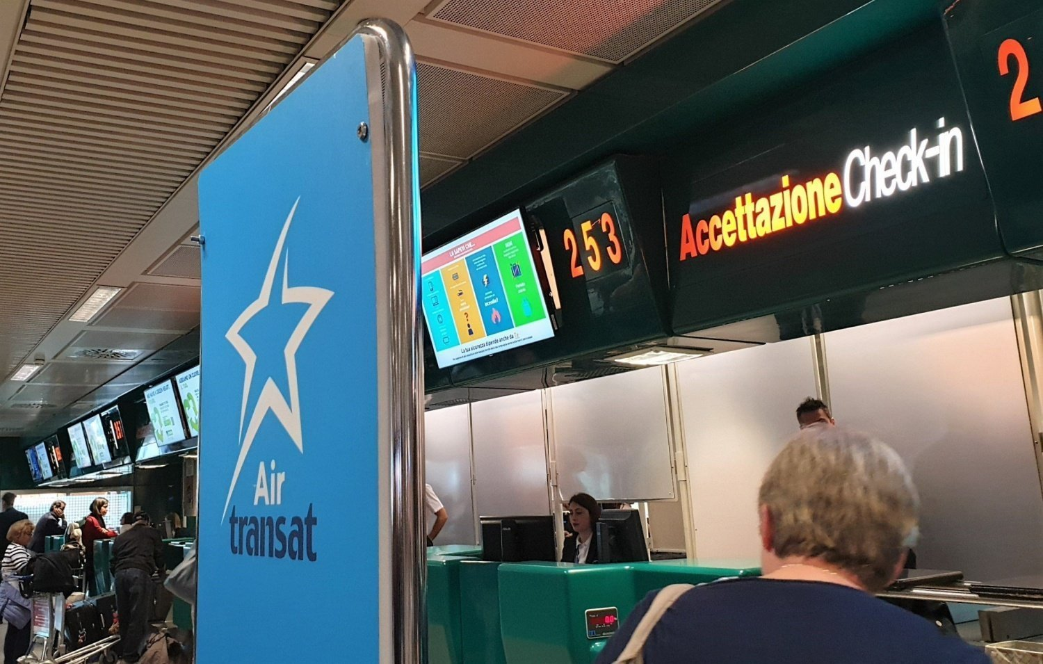 Check in Air Transat