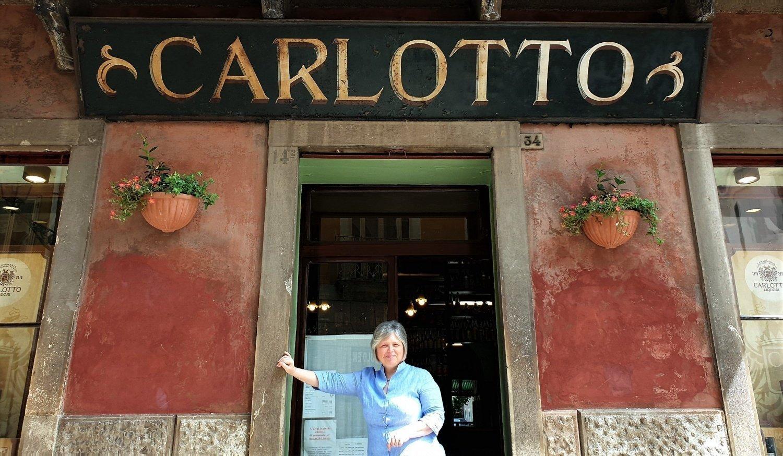 Daniela Carlotto e il locale storico