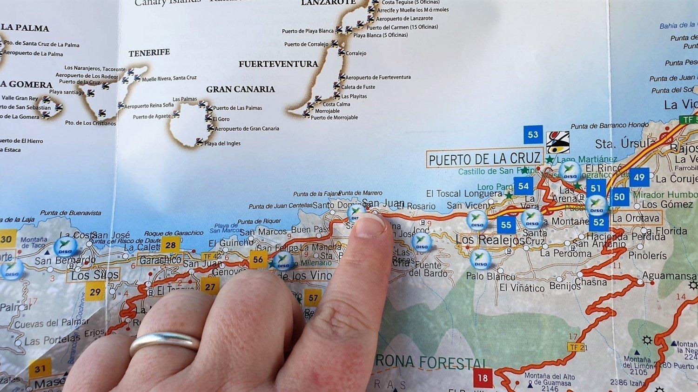 Dove si trova San Juan De la Rambla