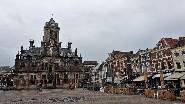 Piazza Mercato Delft