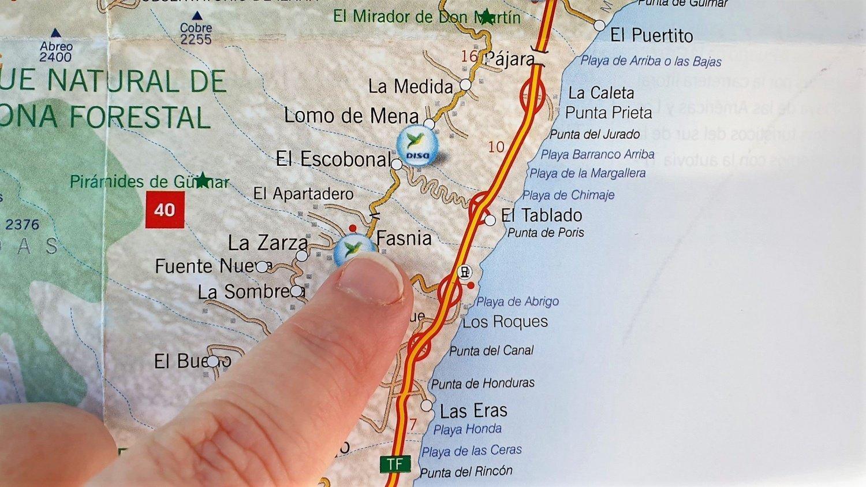 Tenerife dove si trova Fasnia