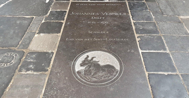Tomba di Vermeer Oude Kerk