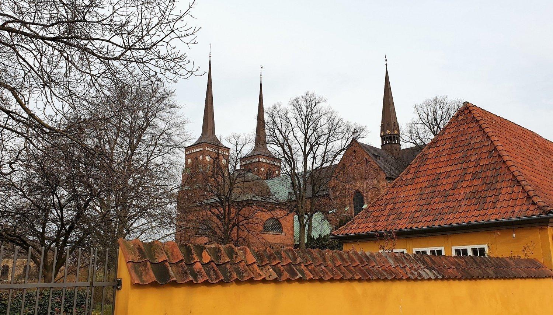 Visitare il centro di Roskilde