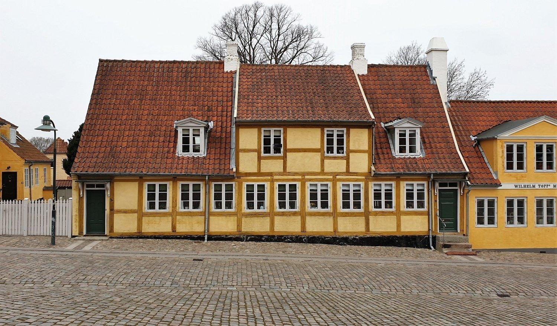 casa antiche centro Roskilde
