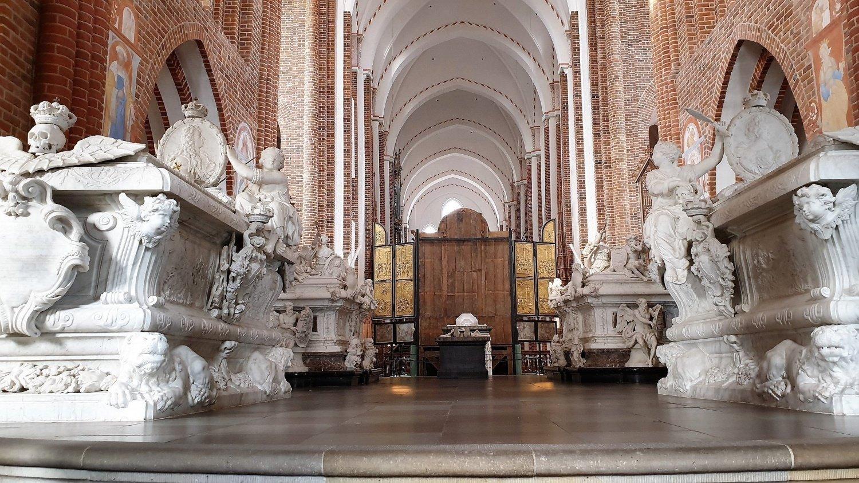 sepolture monumentali cattedrali Roskilde