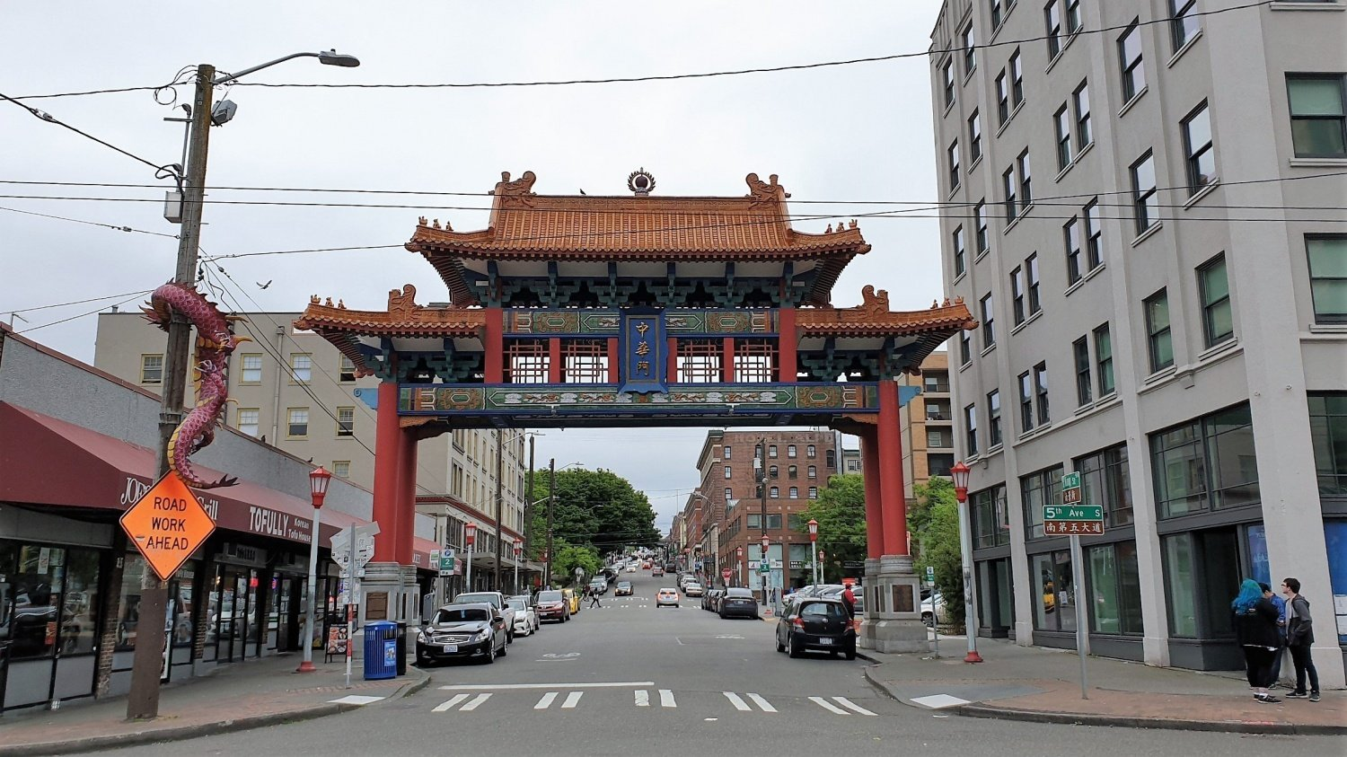 Chinatown a Seattle