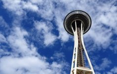 Cosa fare a Seattle Salire sullo Space Needle