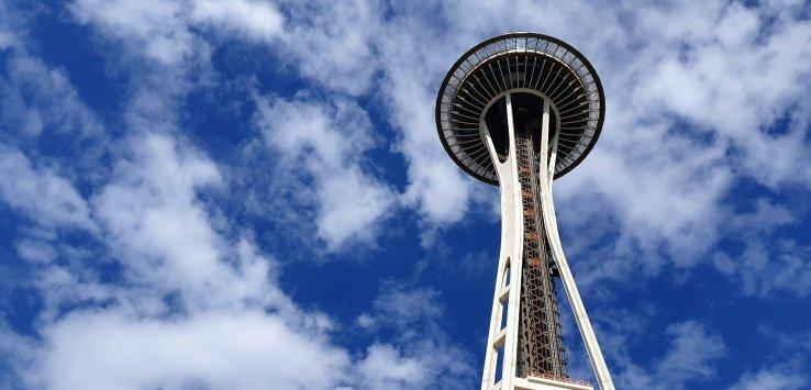 Cosa fare a Seattle Salire sullo Space Needle