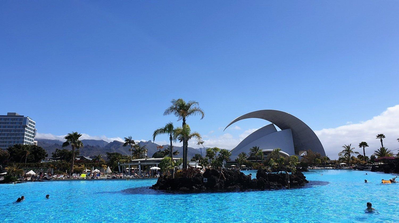 Dove fare il bagno a Tenerife Parque Maritimo Cesar Manrique