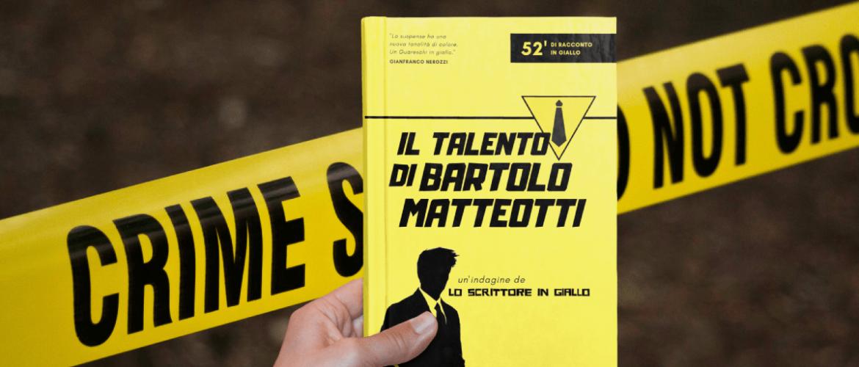 Matteo Bortolotti Lo scrittore in giallo