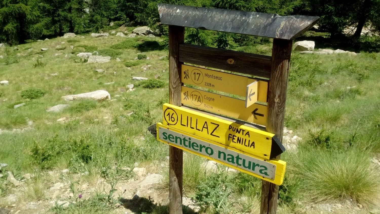 Consigli per il sentiero natura di Cogne