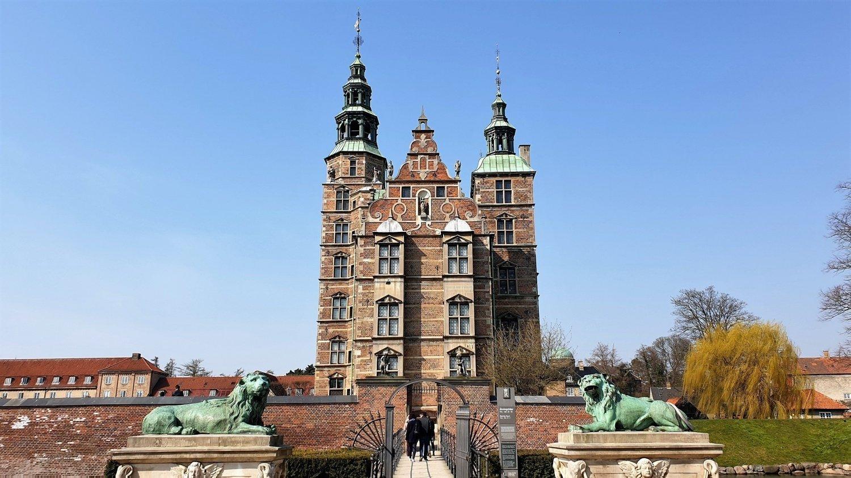 La visita al Castello di Rosenborg, per me