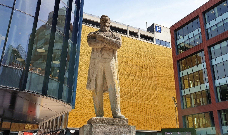 Statua di Engels Manchester