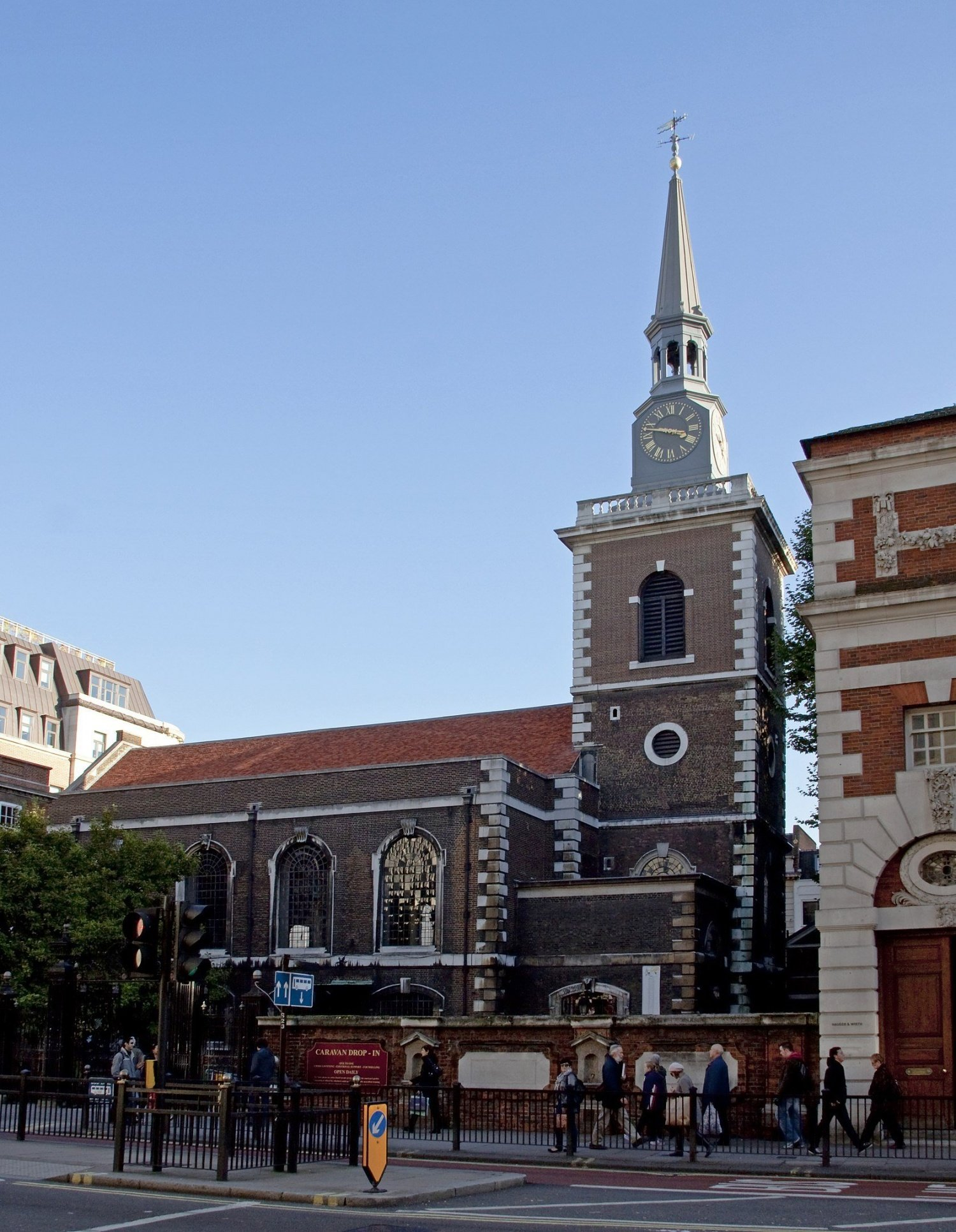 St James Church Piccadilly