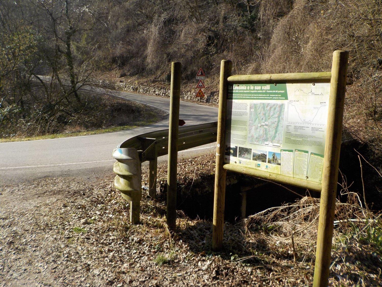 Sentiero per il ponte di Veja