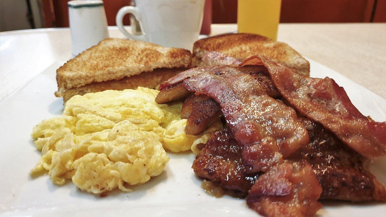 Fare colazione all'Ovaltine Café per me