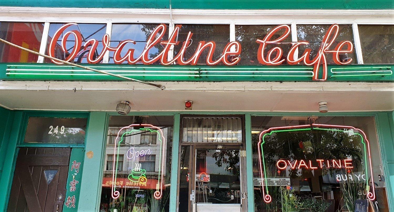 Dove si trova l'Ovaltine Café