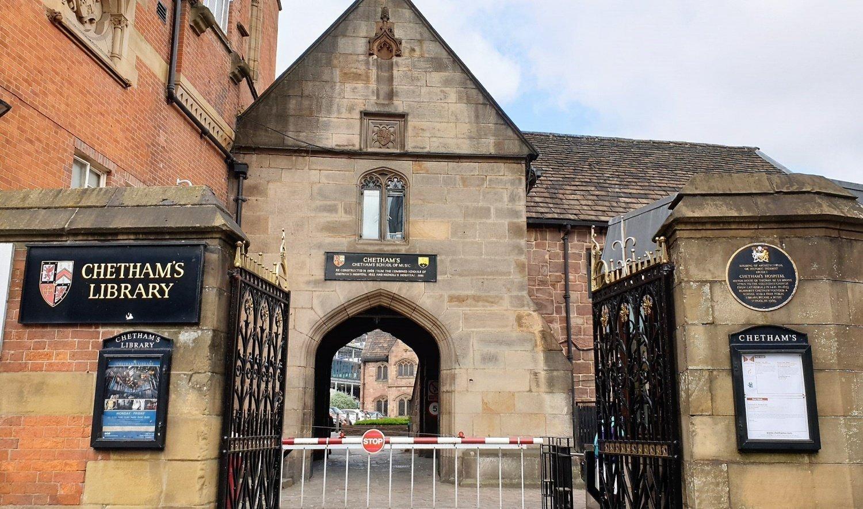 Dove si trova la Chetham's Library
