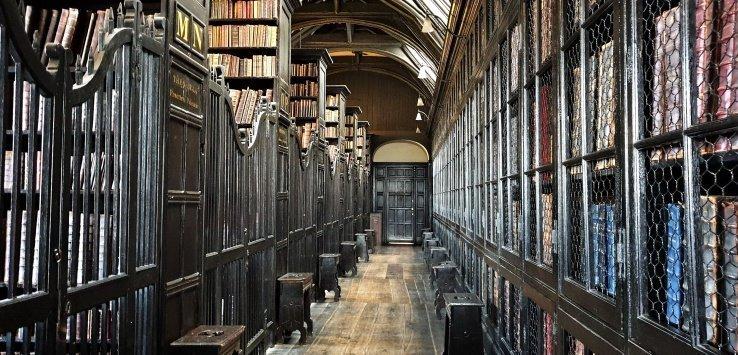 Manchester visitare la Chetham's Library