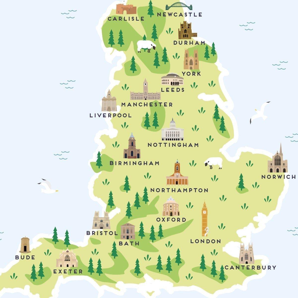 Cartina Inghilterra Per Bambini.Test Per Viaggiatori Qual E La Tua Inghilterra Emotion Recollected In Tranquillity