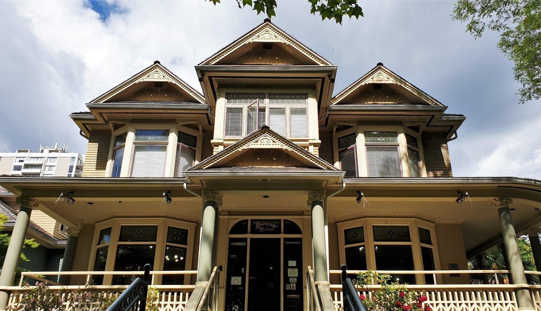 quartiere vittoriano a Vancouver