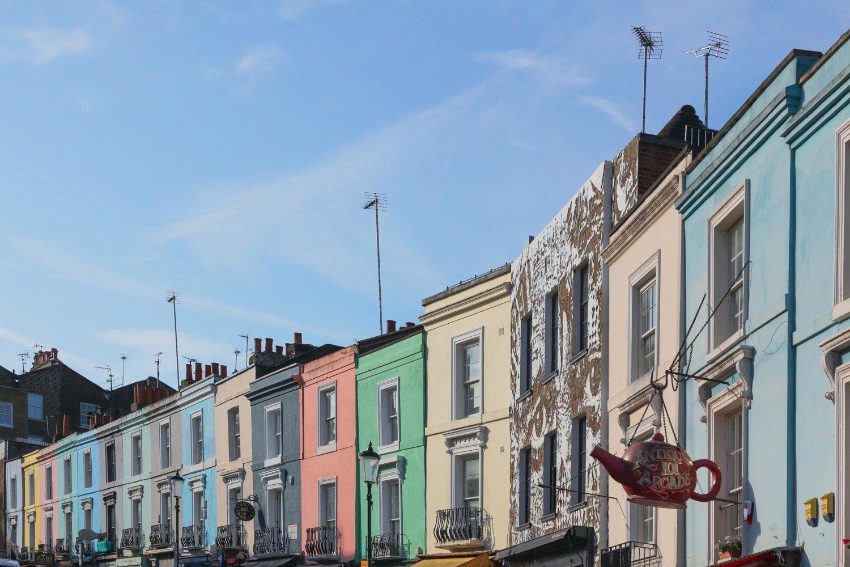 Dove trovare le case colorate in Gran Bretagna
