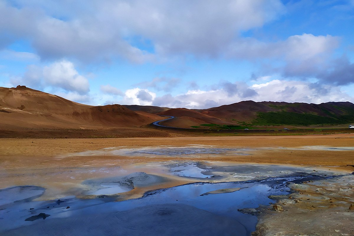 Hverir Islanda