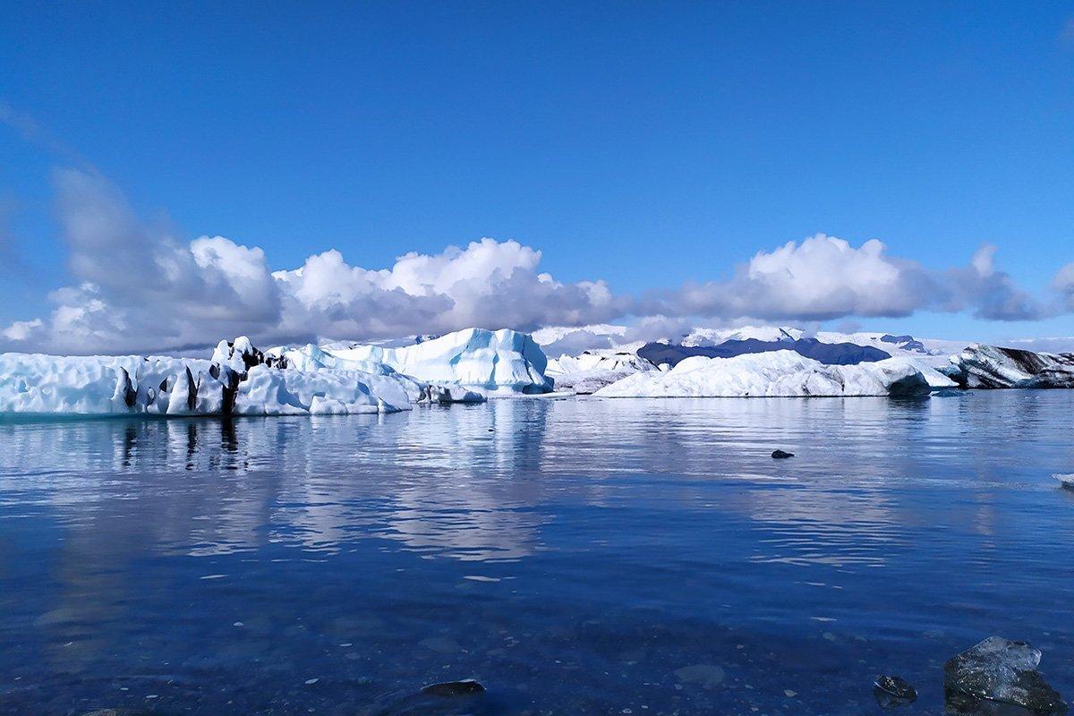 Jökulsárlón Islanda