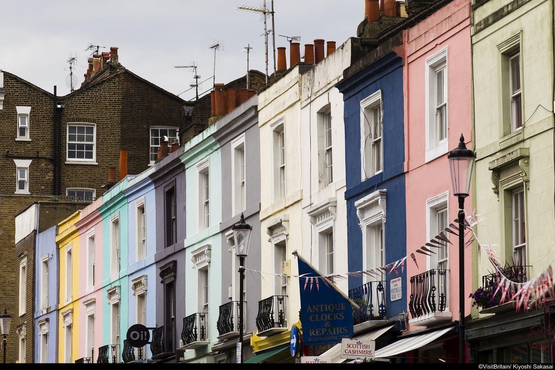 Perché ci sono le case colorate?