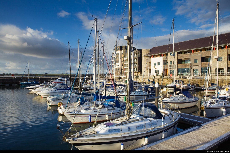 Il porto di Caernarfon