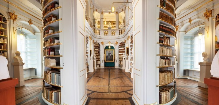 Weimar: visitare la Anna Amalia Bibliothek
