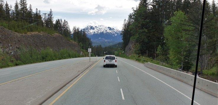 British Columbia Un giorno a Whistler