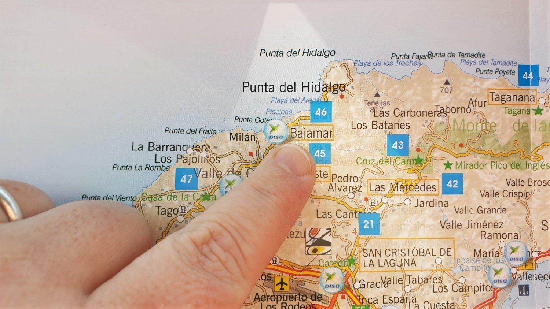 Dove si trova la piscina naturale di Bajamar